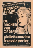 Le notti di Cabiria - Dutch Movie Poster (xs thumbnail)