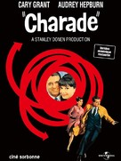 Charade - French Re-release poster (xs thumbnail)