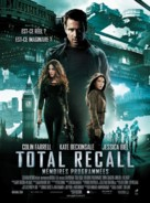 Total Recall - French Movie Poster (xs thumbnail)