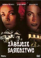 The House Next Door - Polish Movie Cover (xs thumbnail)