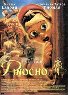 The Adventures of Pinocchio - Spanish Movie Poster (xs thumbnail)