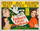 Father's Little Dividend - British Movie Poster (xs thumbnail)