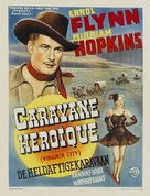 Virginia City - Belgian Movie Poster (xs thumbnail)