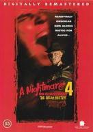 A Nightmare on Elm Street 4: The Dream Master - Danish Movie Cover (xs thumbnail)