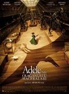 Les aventures extraordinaires d'Adèle Blanc-Sec - Turkish Movie Poster (xs thumbnail)