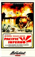 Pacific Inferno - German VHS cover (xs thumbnail)