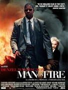 Man On Fire - French Movie Poster (xs thumbnail)