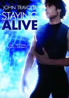 Staying Alive - German DVD cover (xs thumbnail)