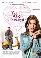 Lo contrario al amor - Turkish Movie Poster (xs thumbnail)