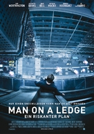 Man on a Ledge - Swiss Movie Poster (xs thumbnail)