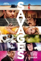 Savages - Danish Movie Poster (xs thumbnail)
