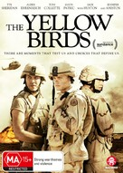 The Yellow Birds - Australian DVD movie cover (xs thumbnail)