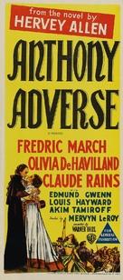 Anthony Adverse - Australian Movie Poster (xs thumbnail)