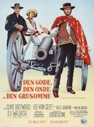 Il buono, il brutto, il cattivo - Danish Movie Poster (xs thumbnail)