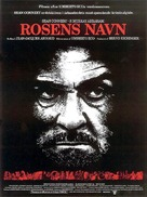 The Name of the Rose - Danish Movie Poster (xs thumbnail)