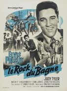 Jailhouse Rock - French Re-release movie poster (xs thumbnail)