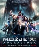 X-Men: Apocalypse - Slovenian Movie Poster (xs thumbnail)