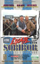 Escape From Sobibor - Polish VHS movie cover (xs thumbnail)