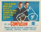 Compulsion - Movie Poster (xs thumbnail)