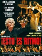 Rhythm Is It! - Spanish Movie Poster (xs thumbnail)