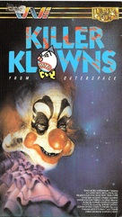 Killer Klowns from Outer Space - VHS cover (xs thumbnail)