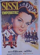 Sissi - Die junge Kaiserin - Spanish Movie Poster (xs thumbnail)
