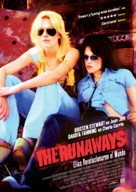 The Runaways - Spanish Movie Poster (xs thumbnail)