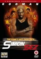 Simon Sez - British DVD cover (xs thumbnail)
