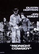 Midnight Cowboy - Danish Movie Poster (xs thumbnail)
