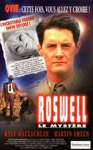 Roswell - French VHS cover (xs thumbnail)