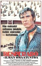Los desesperados - Finnish VHS movie cover (xs thumbnail)