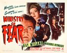 Ministry of Fear - Movie Poster (xs thumbnail)