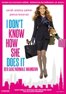 I Don't Know How She Does It - Swiss Movie Poster (xs thumbnail)