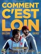 Comment c'est loin - French Movie Poster (xs thumbnail)