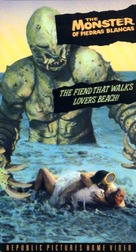 The Monster of Piedras Blancas - VHS cover (xs thumbnail)
