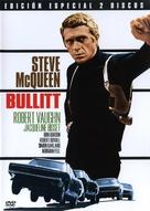 Bullitt - Spanish DVD movie cover (xs thumbnail)