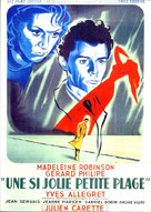 Une si jolie petite plage - French Movie Poster (xs thumbnail)