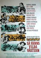 How the West Was Won - Swedish Movie Poster (xs thumbnail)