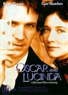 Oscar and Lucinda - Australian DVD cover (xs thumbnail)