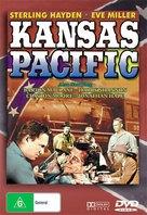 Kansas Pacific - DVD cover (xs thumbnail)