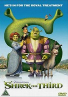 Shrek the Third - Danish DVD cover (xs thumbnail)