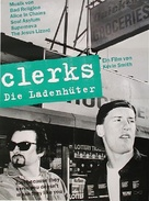Clerks. - German Movie Poster (xs thumbnail)