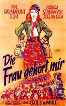 Union Pacific - German Movie Poster (xs thumbnail)