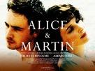 Alice et Martin - British Theatrical poster (xs thumbnail)