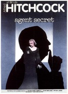 Secret Agent - French Movie Cover (xs thumbnail)
