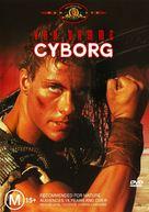 Cyborg - Australian DVD movie cover (xs thumbnail)