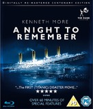 A Night to Remember - British Blu-Ray movie cover (xs thumbnail)