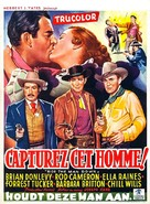 Ride the Man Down - Belgian Movie Poster (xs thumbnail)