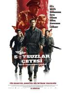 Inglourious Basterds - Turkish Movie Poster (xs thumbnail)