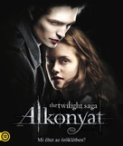 Twilight - Hungarian Blu-Ray cover (xs thumbnail)